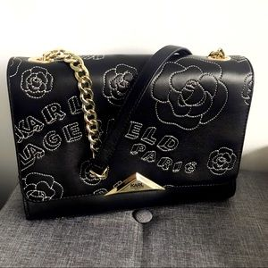 🌹 Gorgeous Karl Soft Leather Floral Bag